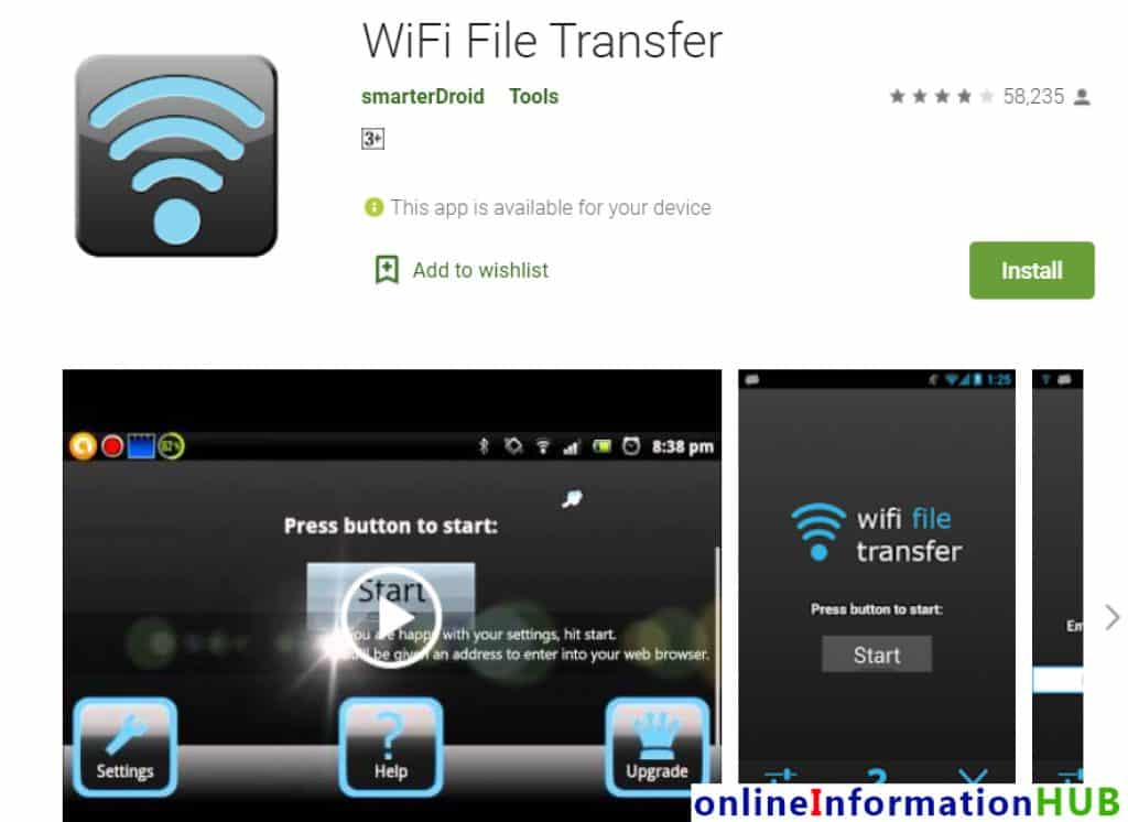 Transfer Photos from Android to iPhone